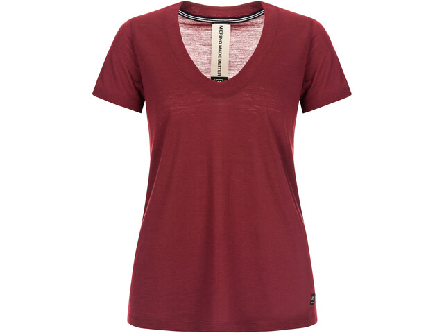 super.natural City Camiseta Mujer, pomegranate